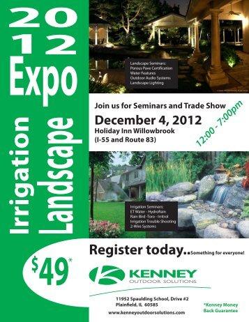 December 4, 2012 - Kenney Outdoor Solutions