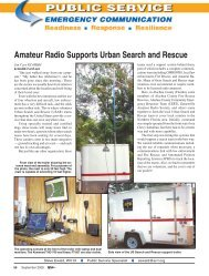 Amateur Radio Supports Urban Search and Rescue - Fireline