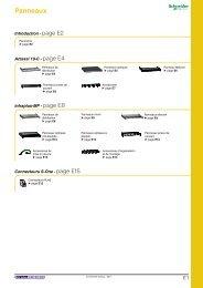 Panneaux - e-Catalogue - Schneider Electric