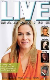 LIVE MAGAZINE VOL 8, Issue #205 March 20th THRU April 3rd, 2015