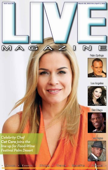 LIVE MAGAZINE VOL 8, Issue #205 March 20th THRU April 3rd, 2015
