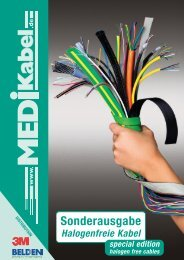 Flat cables UL - Style 21151 - Medi  Kabelhandels GmbH