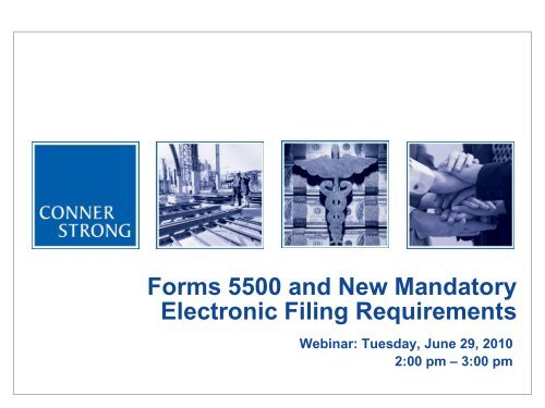 form 5558 e file  Forms 15 and New Mandatory Electronic Filing Requirements