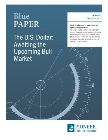Blue pApER - Pioneer Investments