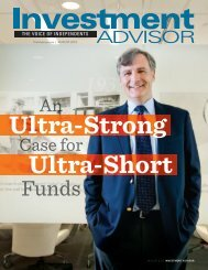 Investment Advisor August 2013 - Pioneer Investments