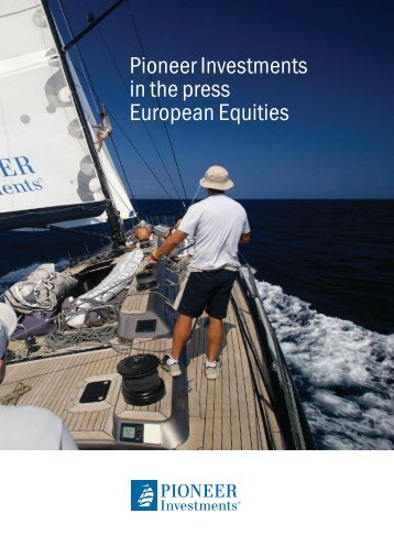 Pioneer Investments in the press European Equities