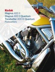 Magnus 400 II Magnus 400 II Quantum Trendsetter 400 III Quantum ...