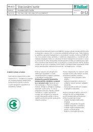 Vaillant kondenzační kotle VSC ecoCOMPACT technická ...