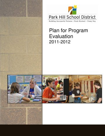 Plan for Program Evaluation - Park Hill School District
