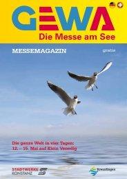 MESSEMAGAZIN - GEWA