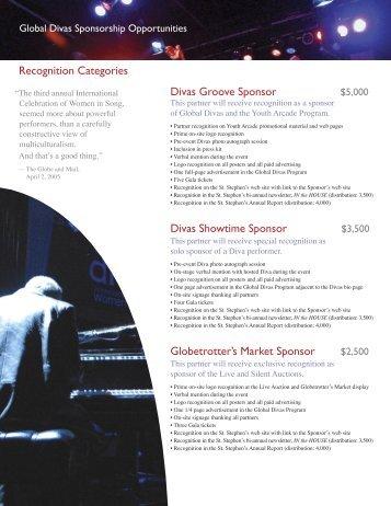 Divas Groove Sponsor - St. Stephen's Community House