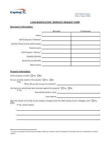RMA Loan Modification Forms : FSA Direct Loan Application