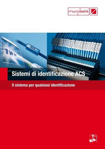 Sistemi di identificazione ACS - Murrplastik Systemtechnik