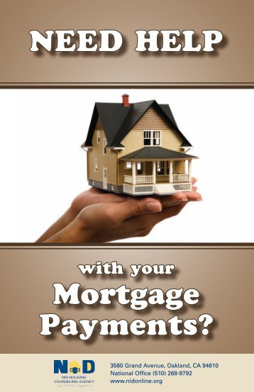 NEED HELP Mortgage Payments? - Home Loan Learning Center