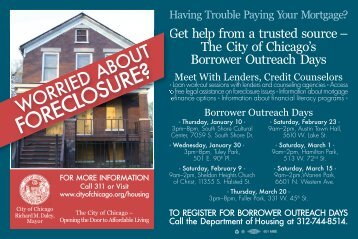 FORECLOSURE? - Home Loan Learning Center