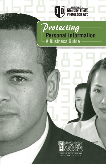 Protecting Your Personal Information - A Business Guide