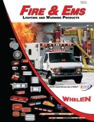 Whelen Fire Lighting Catalog - LSH Lights