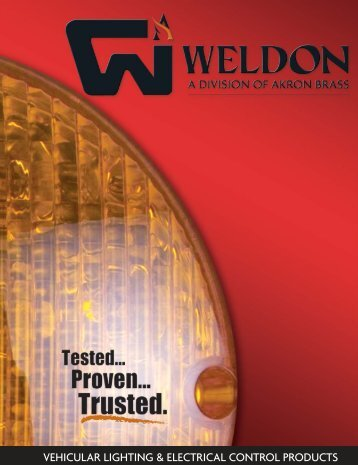 Weldon Product Catalog - Vineland Auto Electric