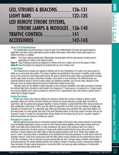 60124Y Truck-Lite Strobe Lamp Flange Kit