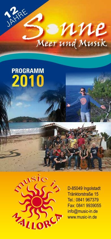 programm 2010 - Music In