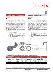 Teilbare Kabelverschraubung Splitable cable fitting