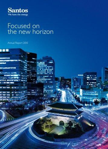 Focused on the new horizon - Santos