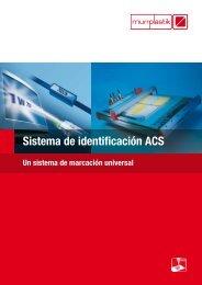Sistema de identificación ACS - Murrplastik Systemtechnik