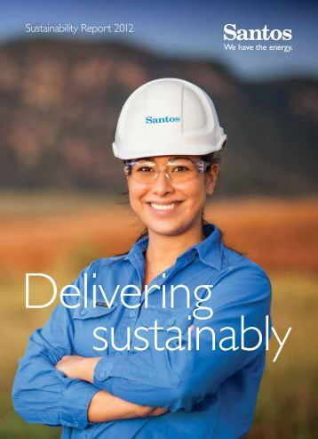 Sustainability Report 2012 - Santos