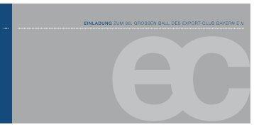 1_Einladung_Ball_2012 - export-club bayern