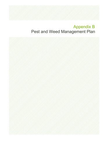 Appendix B – Pest and Weed Management Plan (5 MB) - Santos
