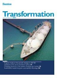 Santos Annual Report 2007