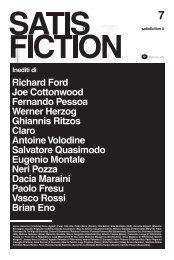 Linnio Accorroni (L'Indice), Anna Aglietti (Pulp), Rita ... - Satisfiction