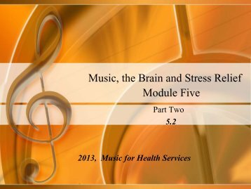 Stress - Music for Health Services