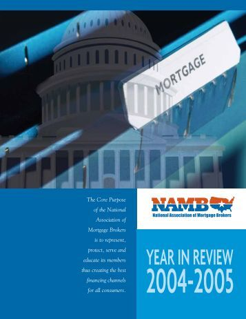 YEAR IN REVIEW - NAMB