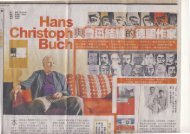 Interview mit Hans Christoph Buch