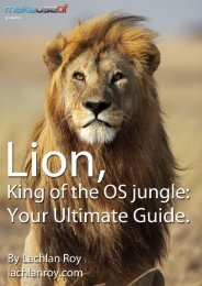 Mac OSX Lion Guide - Amazon Web Services