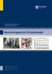 Einzelhandel Monitoringbericht 2011 - Stadt Leipzig