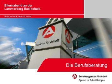Präsentation - Lammerberg-Realschule Tailfingen