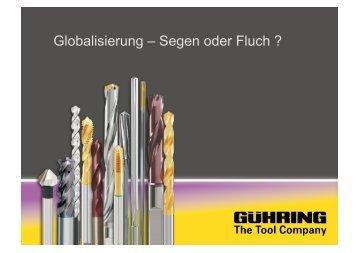 Globalisierung – Segen oder Fluch ?