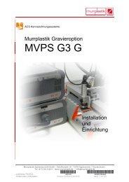 MVPS G3 G - Murrplastik Systemtechnik