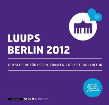 luups berlin 12 - liebe deine stadt