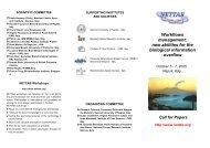 Workflows management - NETTAB Workshops