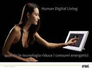 Human Digital Living - M2M Forum 2012