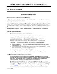 Essay/Thesis/Dissertation Guidelines
