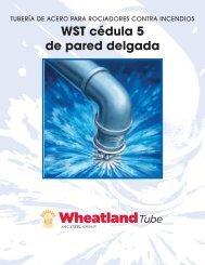 WST cédula 5 de pared delgada - Wheatland Tube