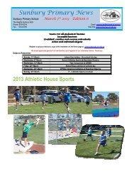Newsletter No 6 March 7 2013 - Sunbury Primary School