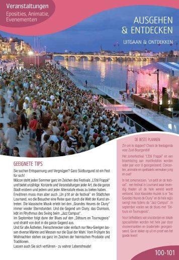 AUSGEHEN & ENTDECKEN - Pays Sud Bourgogne