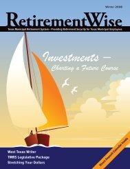 Winter 2008 - Texas Municipal Retirement System