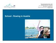 School - Rowing in Austria - canottaggio-fvg