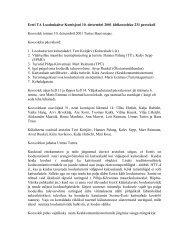 Koosoleku protokoll (pdf)